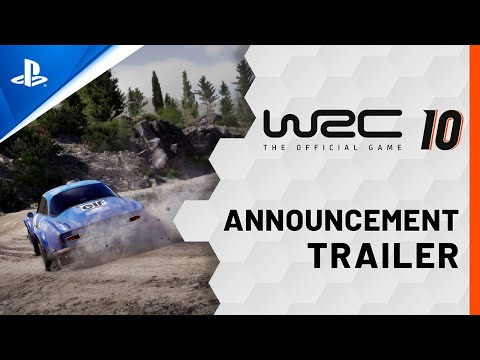 WRC 10 - Reveal Trailer | PS5, PS4