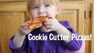 Cookie Cutter Pizzas! Christmas! Thumbnail