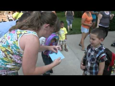 1st day of school at Horace Mann Elementary