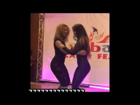Desirée & La Alemana bailando juntas HD