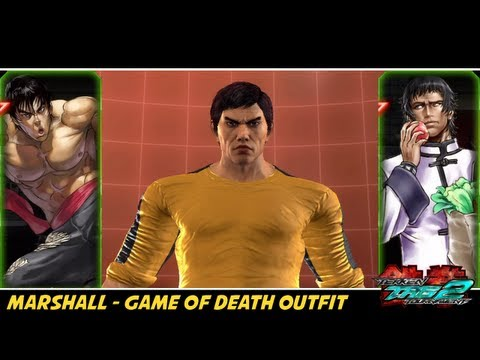 Tekken Tag Tournament 2 - Marshall Law 'Game of Death' Costume + Wok - 동영상