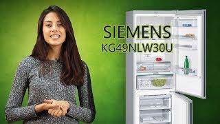 SIEMENS KG49NLW30U - Обзор Холодильника С Нижней Морозильной Камерой