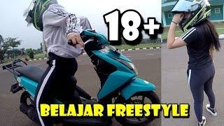 Download Video GAGAL FOKUS ! 18+ CEWEK BELAJAR FREESTYLE BIKIN GREGET MP3 3GP MP4