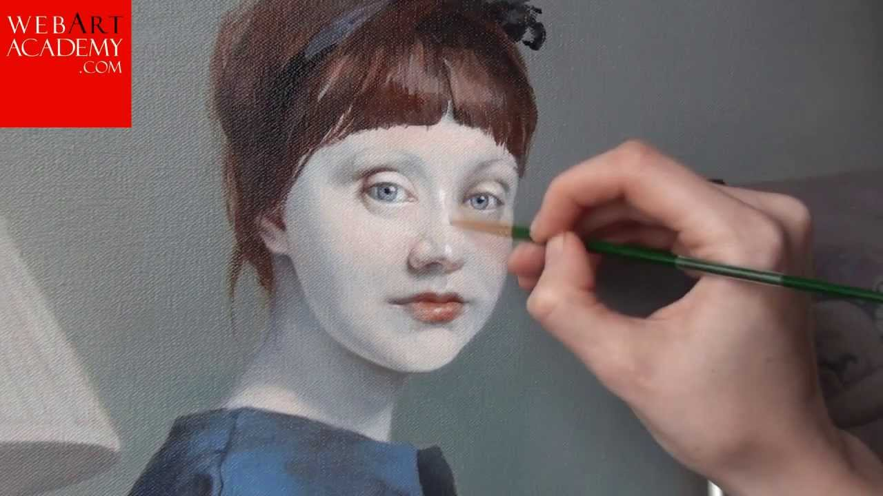 Learn Portrait In Oil Painting