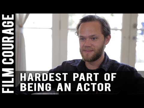 It's Always The Lowest Moment Between Acting Jobs When I Book The Next One by Joseph Cross