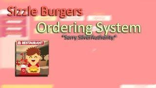 Sizzle Burger Bestellsystem | Roblox