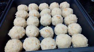 Rawa laddu/Suji k laddu/delicious sweet /simple sweet to try