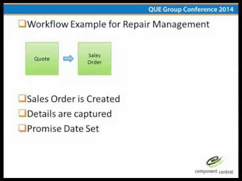Workflow Management Quantum Users Exchange Group (Que Group) 2014 Annual Conference