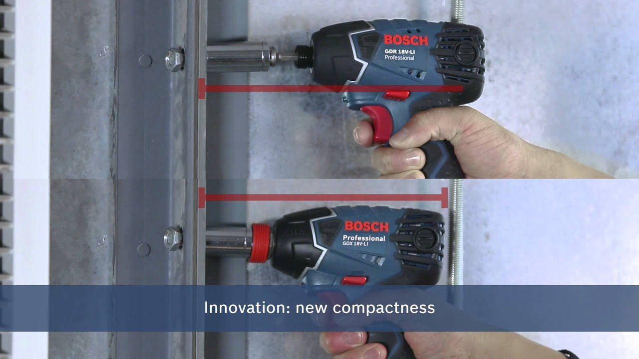 Bosch Electric Impact Wrench Gdx 14 4 V Li 18 Professional