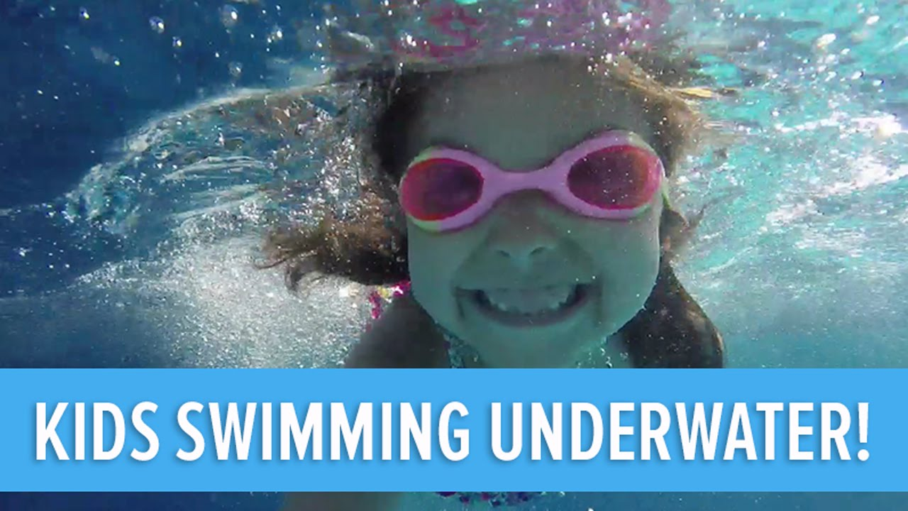 Kids Swimming Underwater kids swimming underwater! - youtube
