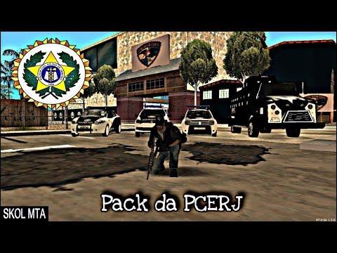Pack da PCERJ