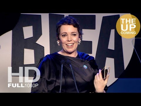 Olivia Colman receives Best Actress at BIFAs 2018 for The Favourite