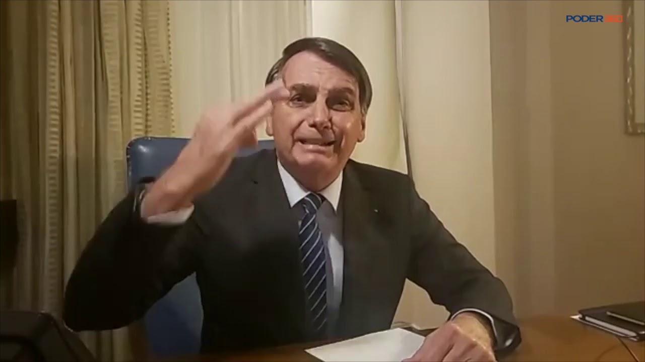 Live: Após associação ao caso Marielle, Bolsonaro chama a Globo de 'podre,  canalha' - YouTube