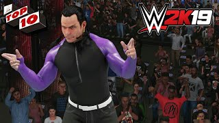 Top 10 Moves of Jeff Hardy - WWE 2K19