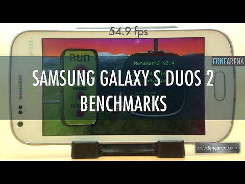 Samsung Galaxy S Duos 2 Benchmarks