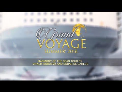 Tour por el Harmony of the Seas con Vitaliy Borovyk y Óscar de Carlos
