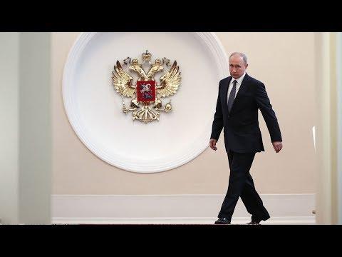 Vladimir Putin inaugurated as Russian president at the Grand Kremlin Palace