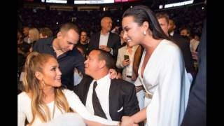 Jennifer Lopez and Alex Rodriguez spotted leaving the Mayweather/Mcgregor fight in Las Vegas