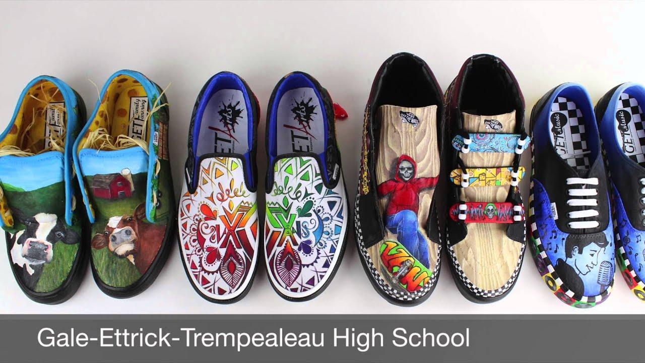 2015 G E T VANS Custom Culture Shoes