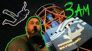 ABANDONED INDOOR SKYDIVING PARK AT 3AM