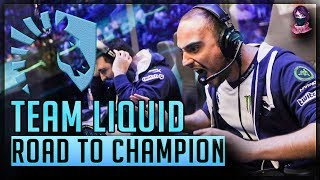 Team Liquid - Road To CHAMPION Tribute Movie by Time 2 Dota #dota2 #ti7 #teamliquid