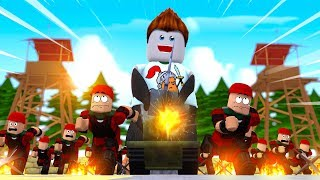 ROBLOX TOWER BATTLES! (Zombies vs Army)