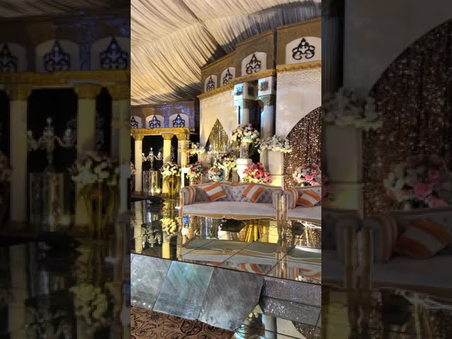 Lavish Walima Event   Unique wedding decor ideas 2021-2022   Elegant Walima Event decorations ideas