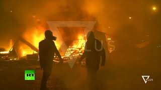 Presidenti francez Macron denon dhunen ne Paris - News, Lajme - Vizion Plus