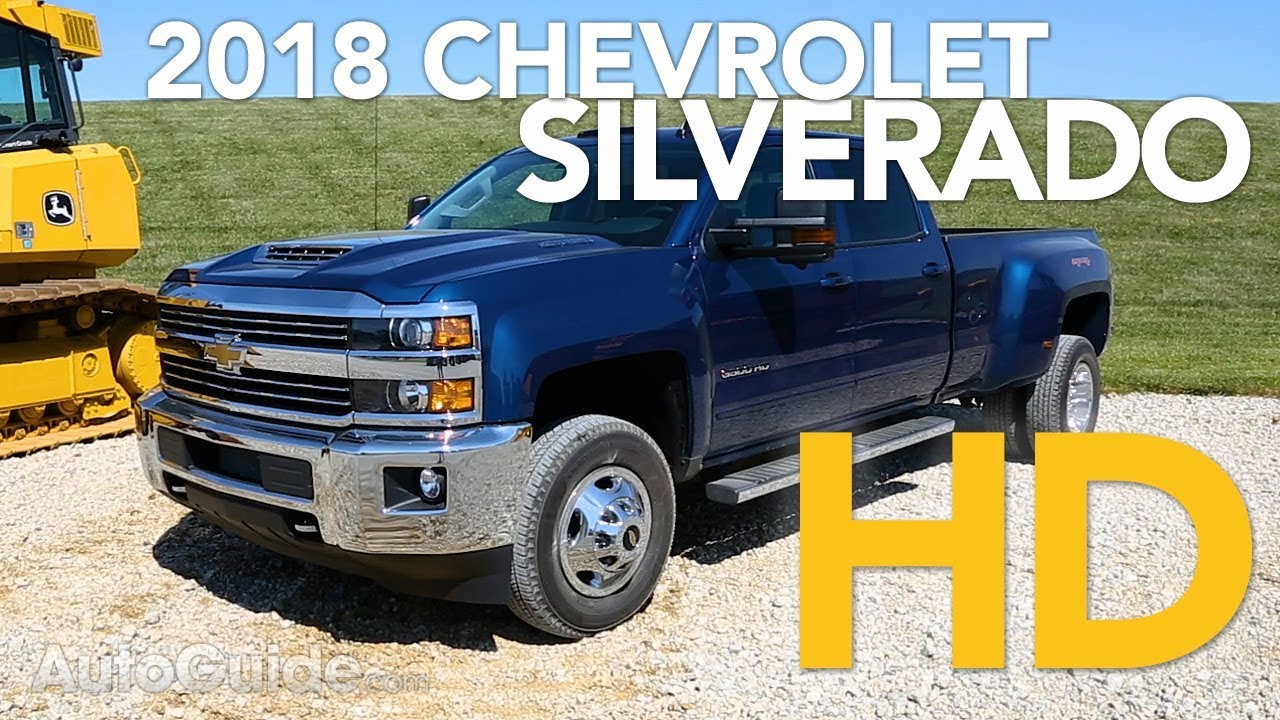 2018 Chevrolet Silverado 3500 Hd Review Youtube