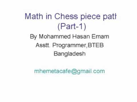 online chess lesson--CHESS AND MATHEMATICS!! thumbnail