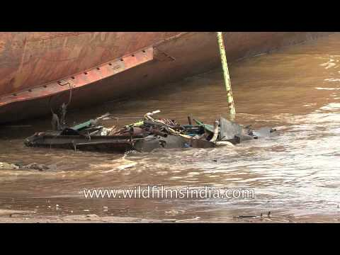 Ship breaking industry in India - Alang, Gujarat