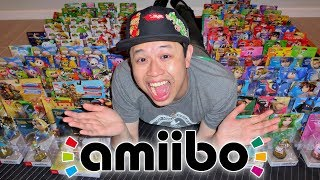 BIGGEST amiibo Collection UNBOXING EVER!