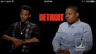 Algee Smith and Jason Mitchell Detroit Interview