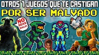 Top 7 Otros Videojuegos que te Castigan por ser MALVADO