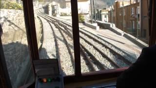 Ferrovia Principe Granarolo, Rack (Cog) Railway, Genoa Italy