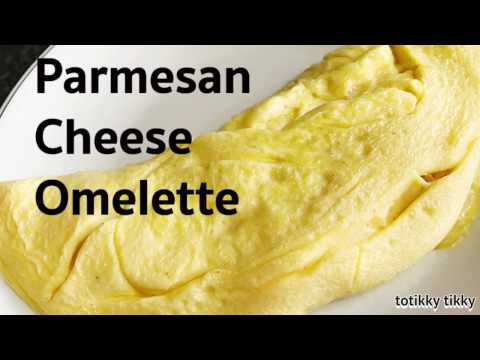 Parmesan Cheese Omelette Recipe