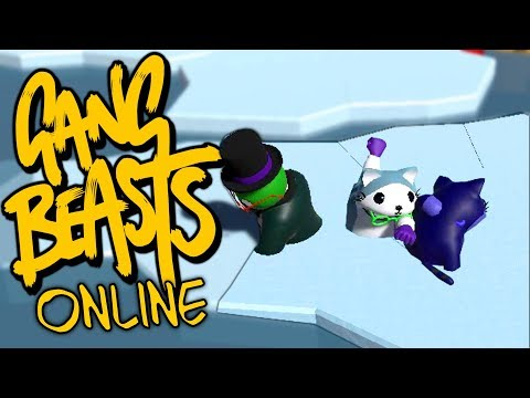 ON PASSE A TRAVERS LA GLACE ! | GANG BEASTS MULTI ONLINE COOP