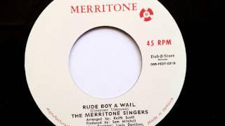 Hopeton Lewis Rude Boy A Wail  The Merritone Singers - Merritone