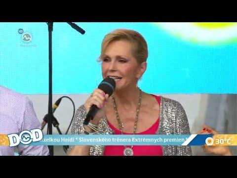 Helena Vondráčková - rozhovor a píseň Jablko