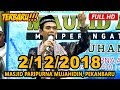 Ceramah Terbaru Ustadz Abdul Somad Lc, MA - Masjid Paripurna Mujahidin, Pekanbaru