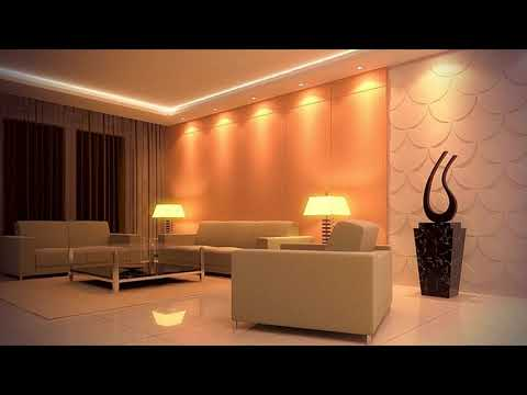 LED Ceiling Lights Ideas-Living Room