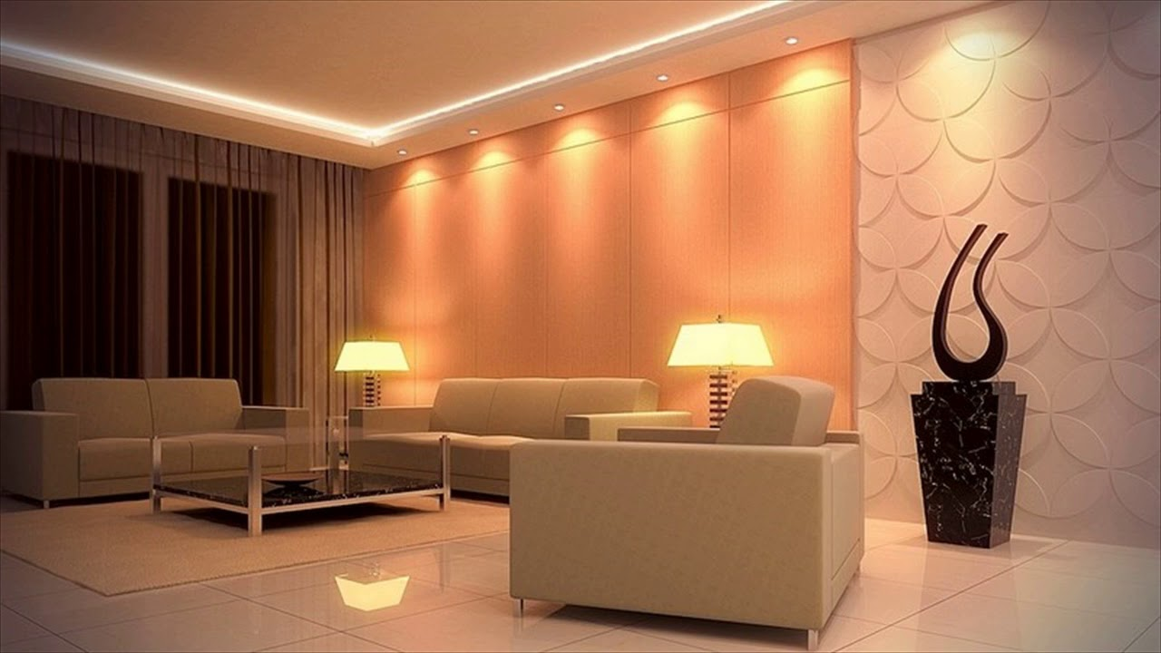 led ceiling lights ideas living room youtube. Black Bedroom Furniture Sets. Home Design Ideas
