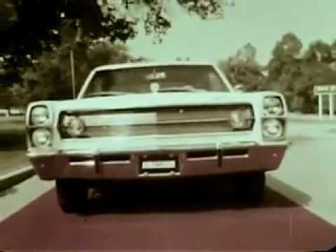 Vintage Old 1960's AMC American Motors Ambassador Car Commercial 1967