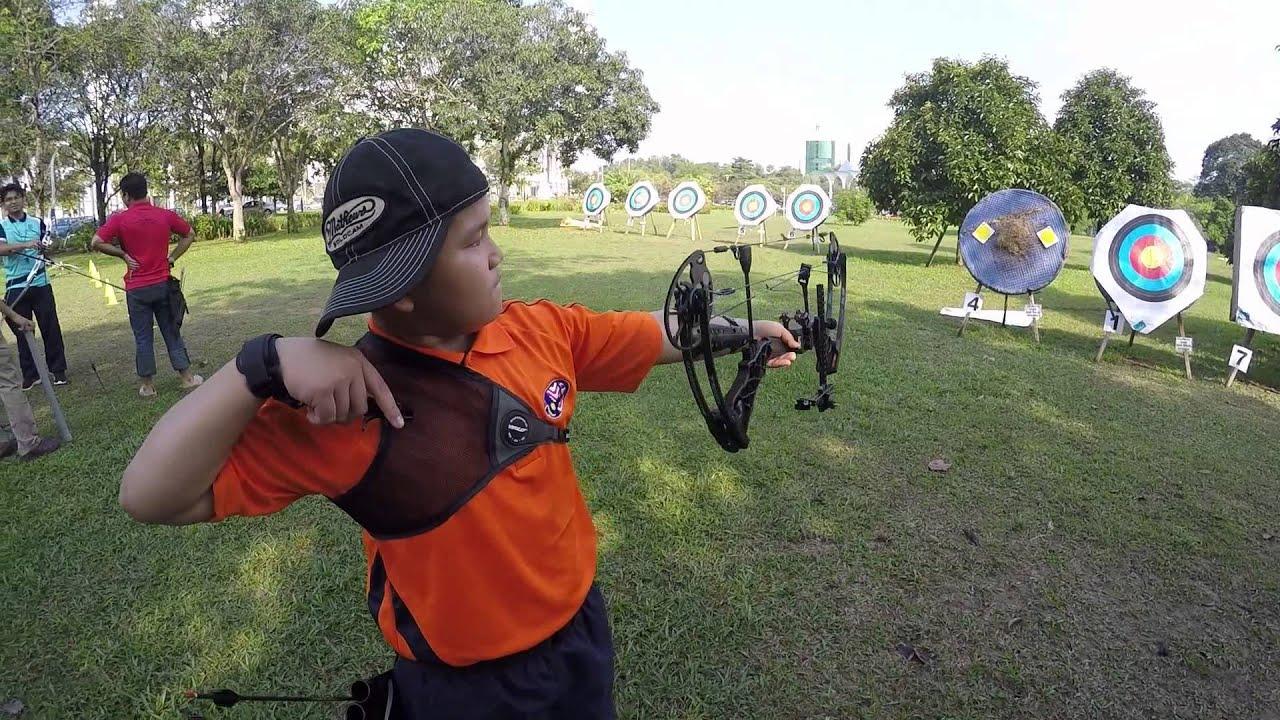 Latihan Memanah Archery Training Recurve Bow GoPro YouTube