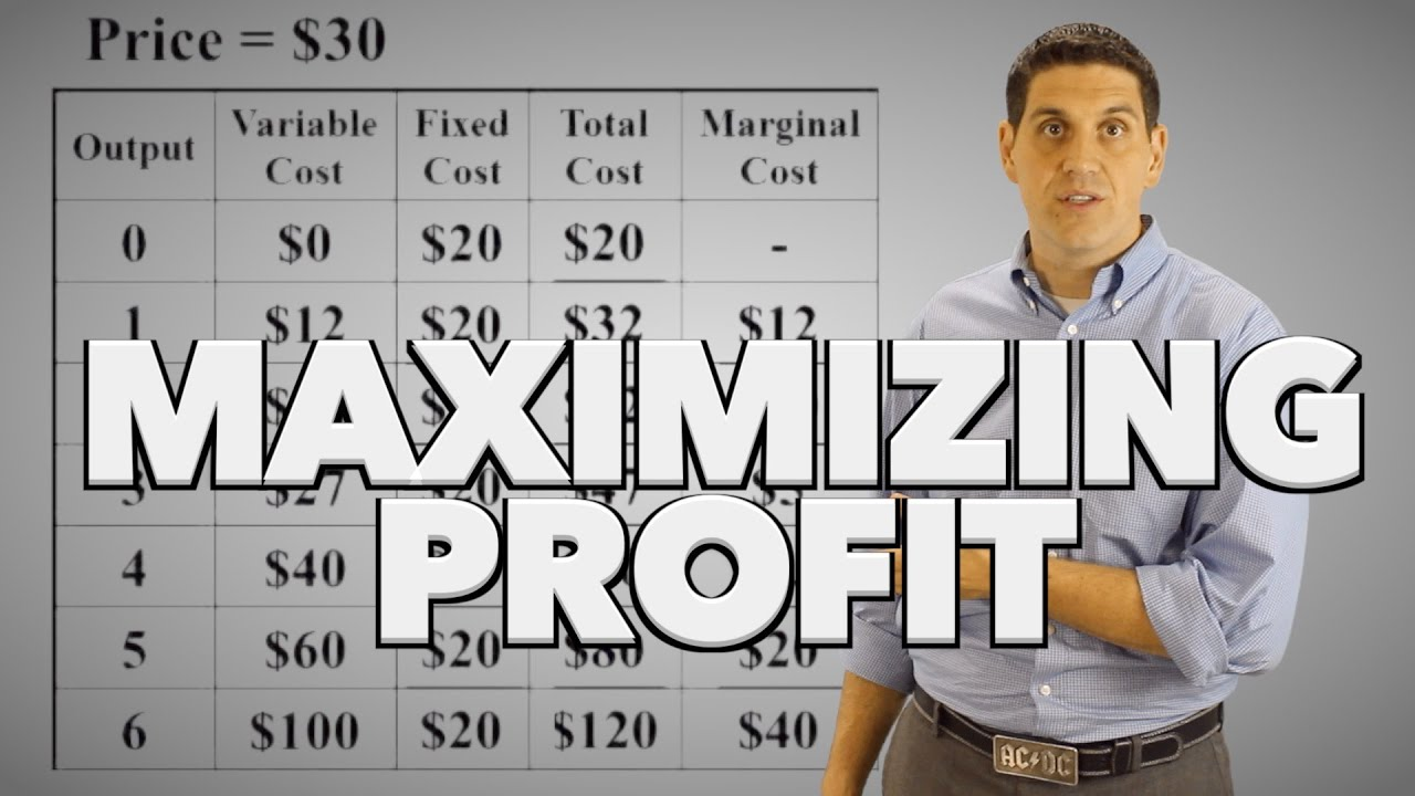 maximazing profit Across the united states, as companies continue posting record profits, workers face high unemployment and stagnant wages driving this change is a deep-seated belief that took hold in corporate america a few decades ago and has come to define today's economy — that a company's primary purpose is to maximize.