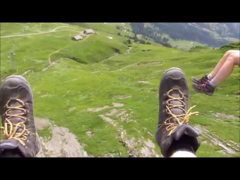 Grindelwald First zip line