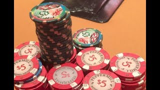 Pocket Aces In 4-bet Pot! Making The Nuts Over And Over!! Poker Vlog Ep 77