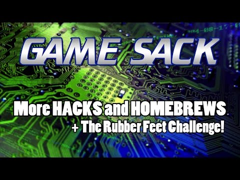 More Hacks and Homebrews + Rubber Feet Challenge! - Game Sack