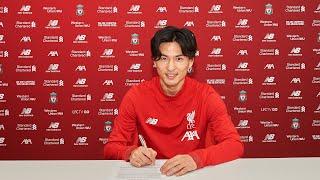 Takumi Minamino agrees Liverpool deal | リヴァプールFCは南野拓実選手と契約合意