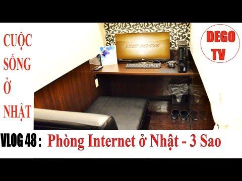 Quán internet ở Nhật Như Khách Sạn 3 Sao   MaBoo NetRoom   DEGO TV